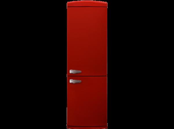 Sharp SJ-RA10RMXR3-EU Retro Rot Kühl-Gefrier-Kombination