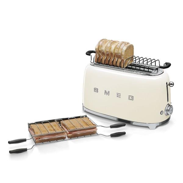SMEG TSF02CREU 4-Scheiben-Toaster Creme