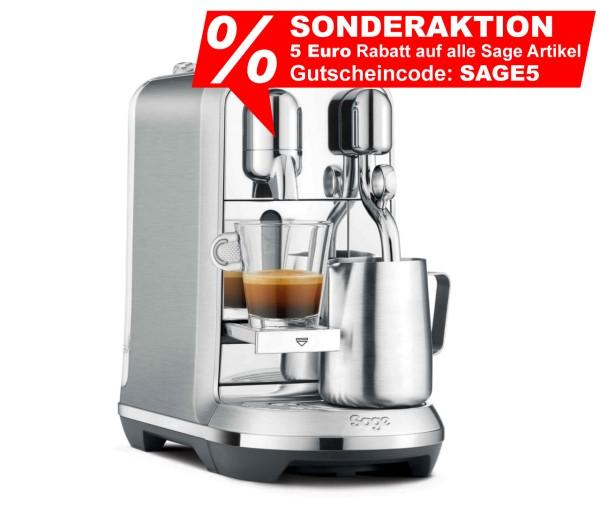 Sage SNE800BSS4EGE1 Nespresso-Maschine The Creatista Plus edelstahl
