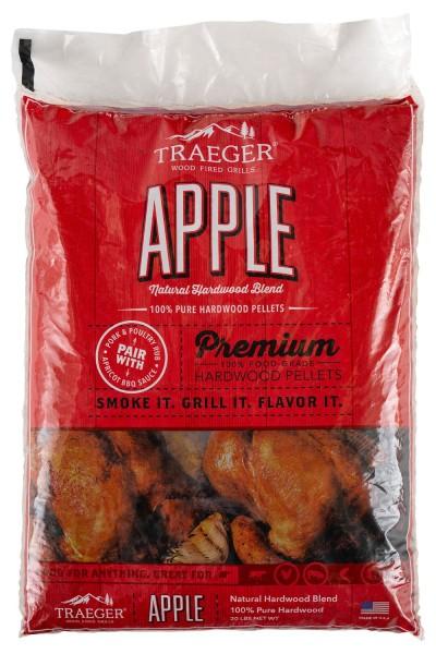 TRAEGER Hartholz Pellets Apfel 9kg Sack PEL343