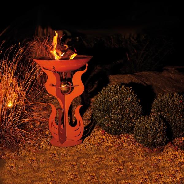 Home Deluxe Rost Feuerschale Inka