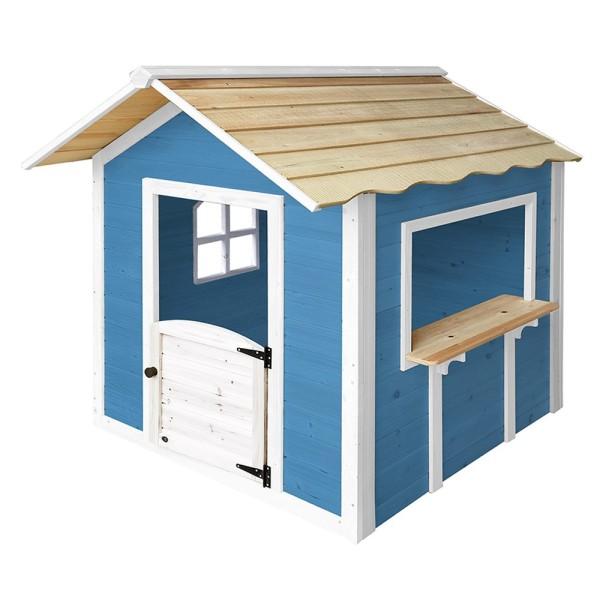 Home Deluxe Spielhaus - Der grosse Palast / Blau ohne Bank
