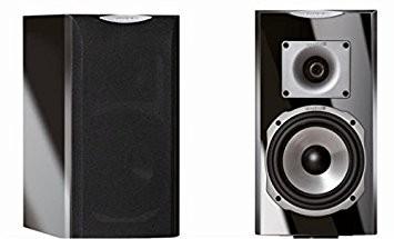 Quadral Platinum M25 schwarz hochglanz (Paar)