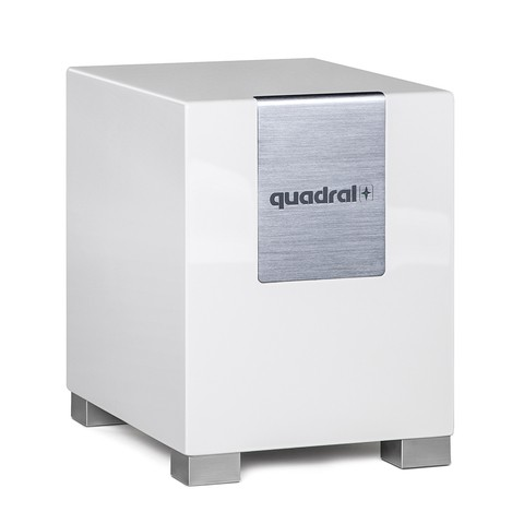 Quadral Qube 8 aktiv weiss hochglanz (Stück)