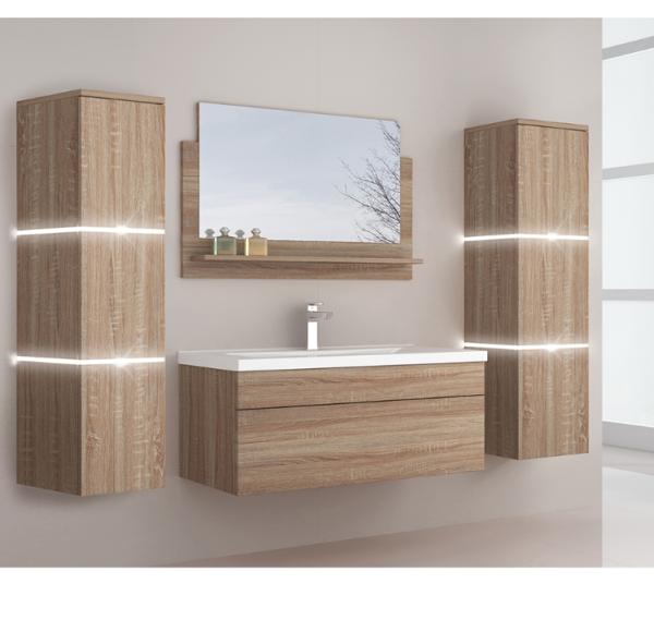 Home Deluxe Badmoebel Wangerooge BIG XL - Holz (HB)