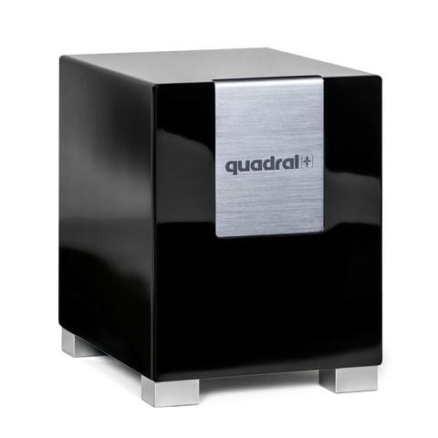 Quadral Qube 8 aktiv schwarz hochglanz (Stück)