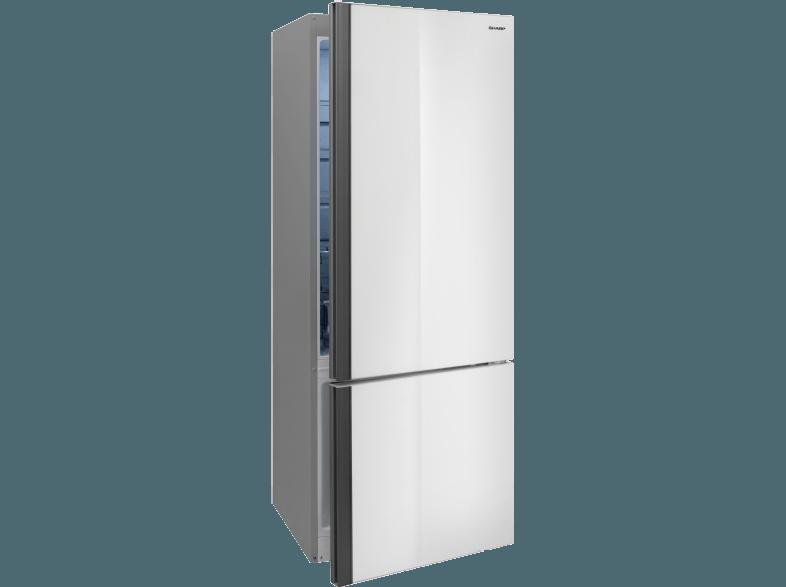 Kühlschrank Side By Side Check24 : Sharp sj ba24imwg2 eu kuehl gefrierkombination weiss glas kühl
