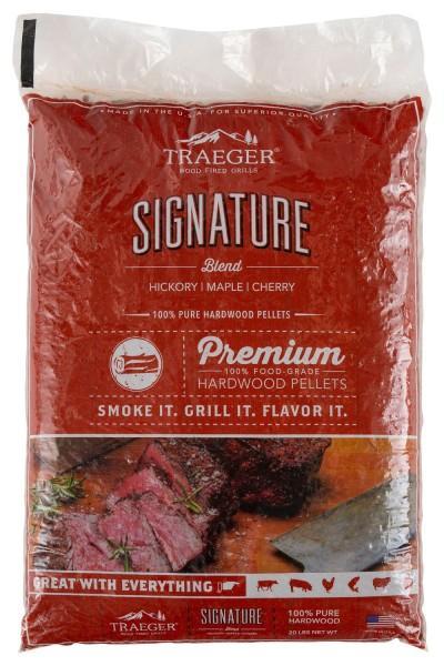 TRAEGER Hartholz Pellets Siganture Blend 9kg Sack PEL337
