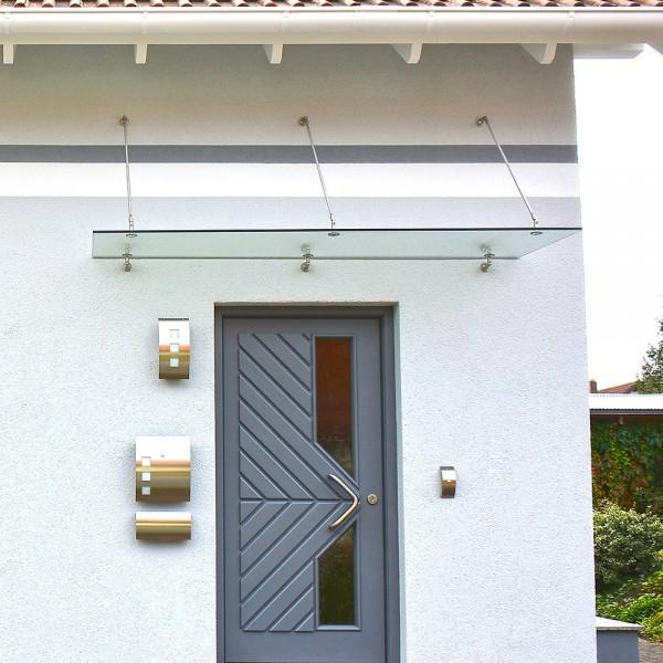 Home Deluxe Glasvordach 300x90cm V1
