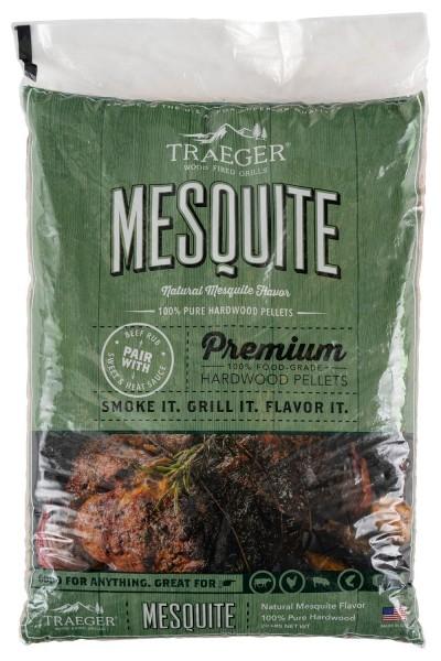 TRAEGER Hartholz Pellets Mesquite 9kg Sack PEL336