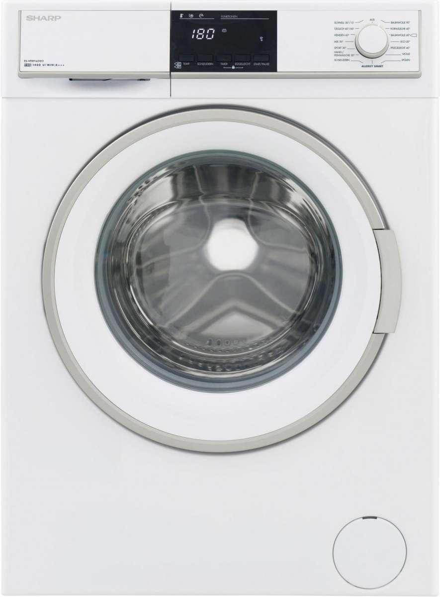 Sharp ES HFB9143W3 DE Waschmaschine 9kg