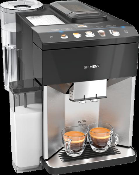 Siemens TQ507D03 Kaffeevollautomat, EQ.500 Edelstahl