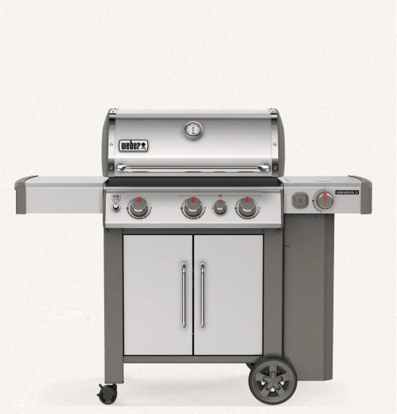 Weber Genesis II SP-335 GBS Gasgrill 3-flammig Edelstahl 61006179