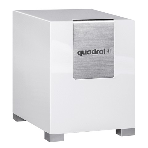 Quadral Qube 12 aktiv weiß