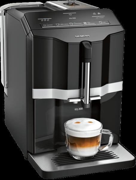 Siemens TI351509DE EQ.300 Kaffeevollautomat Schwarz