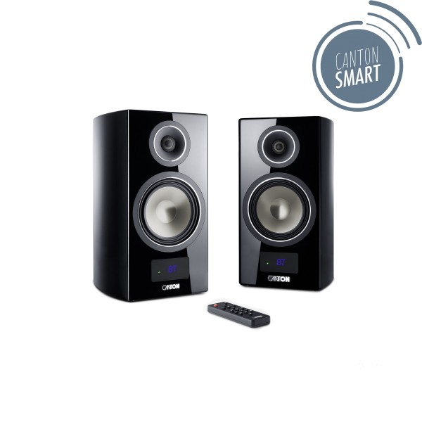 Canton Smart Vento 3 Set schwarz high-gloss