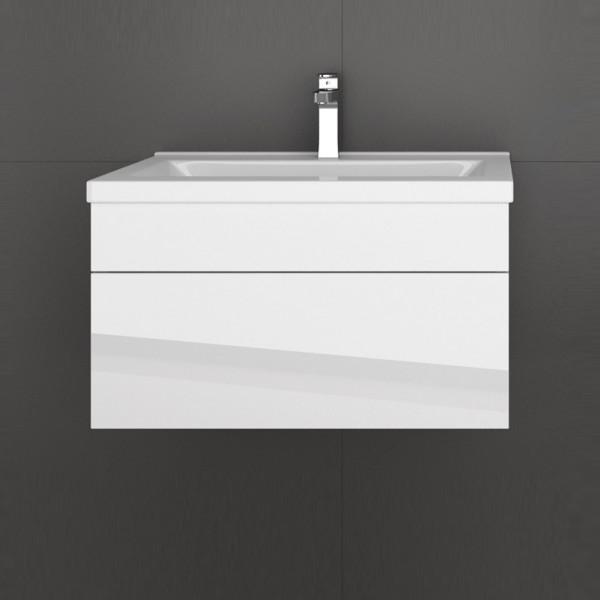 Home Deluxe Badmoebel Wangerooge S - Weiß (HB)