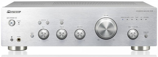 Pioneer A-30-S silber
