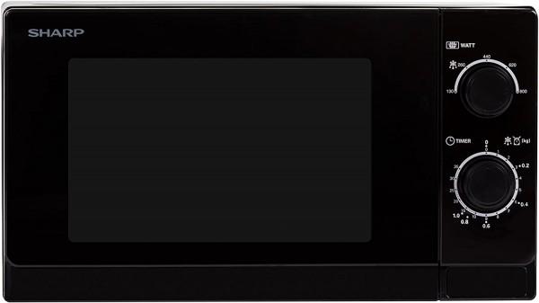 Sharp R200BKW Mikrowelle Schwarz