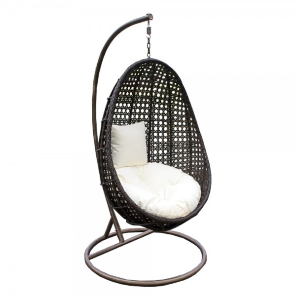 Home Deluxe Polyrattan Hängesessel Nido