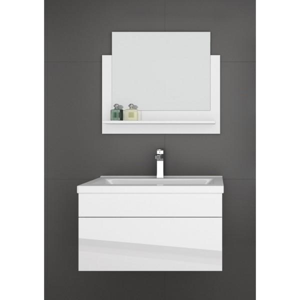 Home Deluxe Badmoebel Wangerooge M - Weiß (HB)