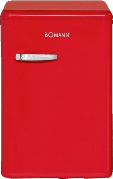 Bomann VSR 352 Vollraumkühlschrank Retro-Style rot