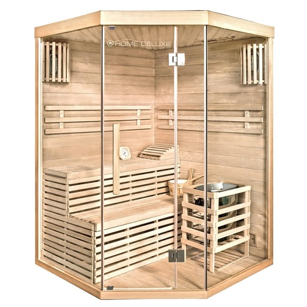 Home Deluxe Traditionelle Sauna Skyline XL